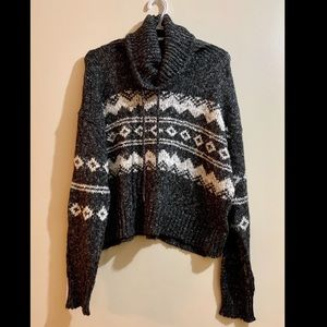 Forever 21 Cowl Neck Sweater GREAT CONDITION!